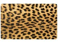 Multi Color 23 in. x 36 in. Neoprene Leopard Door Mat