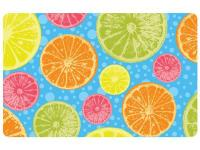 Multi Color 23 in. x 36 in. Neoprene Zesty Door Mat is