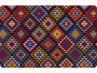 23 in. x 36 in. Printed Kilim Blanket Mat ? perfect for