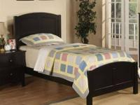 Custom built, single twin-size mattress bunk bed with