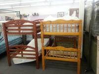 Bunk bed sale at excellent furniture twin double steel