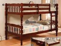 Bunk Bed Cherry or Oak$259.00. (white available for