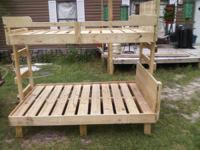 we build twin size bunk beds and twin size beds we also