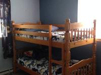 Nice Bunk Beds,Solid,mail me for details.........one