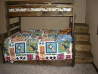 All wood beds made by hand.  High quality construction.