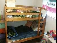 am selling this bunk beds good condition matreses are