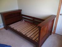 We have a set of gorgeous bunk beds for sale with