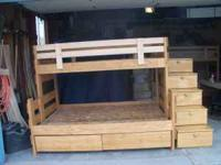 Custom made Bunk beds made one bed at a time. Best