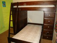 Twin Bunk Beds W/out mattresses Bought New at Sam