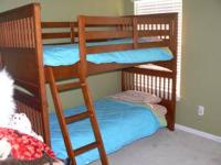 Bunk beds , excellent shape. 2 years old purchased at