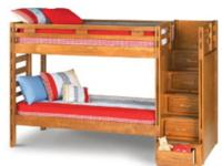 Steinhafels Canyon furnishings company solid wood bunk