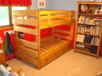 Custom-built solid wood bed frames, bunk beds and loft