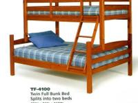 Bunk Beds/with Trundle Bed and bottom pull out drawers