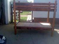 I have a custom built kids bunk bed for sale asking 230