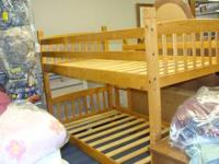 Bunkbed Blonde Wood Twin Size Appleton For Sale In Appleton