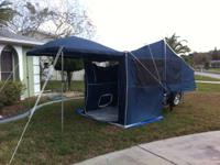 2008 Bunkhouse LX popup camper. Can be towed by a