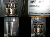 20900.0011 1/2012 Bunn Dual Commercial Coffee Mold,