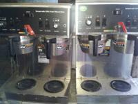 """BUNN"" H.D.COM MERCIAL DUAL COFFEE BREWER, STAINLESS"