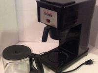 Gently used Bunn Coffee Brewer. Brews 4 to 10 cups (20