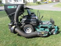 Used GREAT condition Bunton zero steer mower. Brand new