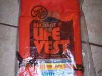 Buoyant Life Vest - Child Size Medium - NEW This is a