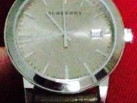 I am selling my Burberry watch. It was given to me as a