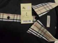 "New With Tag Burberry Shirt size ""L"" Give me a call at"