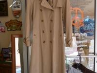 Burberry classic trench in side M. Check out Sanfords