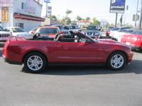 2012 Ford Mustang V6 has a powerful 6 cylinder, 3.7