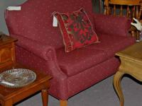 Burgundy Country Settee  Prices (including mark-down