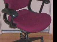 This Herman Miller Equa task chair is very