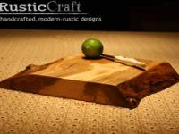 Thick Solid Maple Wood Cutting Serving Block -Amazing