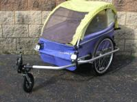 Burley 2-Child D'Lite Bicycle Trailer $245 Selling the