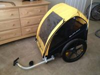 Lightly used Burley Bee Trailer Great condition 2 child