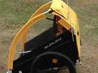 Although gotten 2 years ago this Burley Bee trailer is