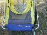 Here is a Burley bicycle trailer in good shape (needs