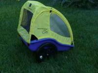 Up for sale is a Burley Cub Bike trailer in great
