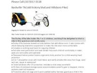 Bike Trailer Retails for $650.00 +$150.00 Joggers kit