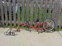 Burley Piccolo Trailer Cycle, comes with Moose Rack,