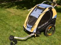My wife and I are selling our Burley Solo Bike Trailer.