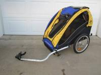 Burley Solo bicycle child / toddler trailer / buggy in