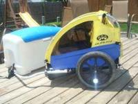 This is a used Burley Solo Bicycle Trailer. This will