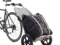 Brand new Burley travoy bike trailor. Never used.