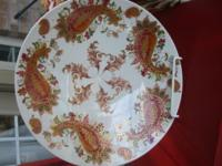 """BURNISHED AMBER"" PORCELAIN PLATTER, BY LENOX. DUE TO"