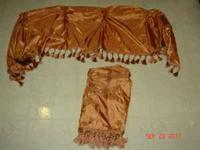 I have a set of 2 Burnt Orange Curtain Panels for sale.
