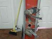 I am selling my favorite snowboard to help pay for my