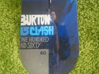 BURTON CLASH 160 V ROCKER Hi guys, I am selling brand
