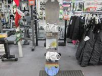 WE HAVE A BURTON WOMENS CLEAR BOARD IN EXCELLENT
