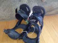 Womens Burton Escapade Snowboarding bindings, used,