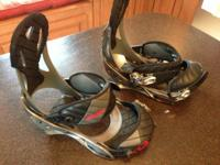 "Excellent condition, Burton "" Mission"" model bindings."